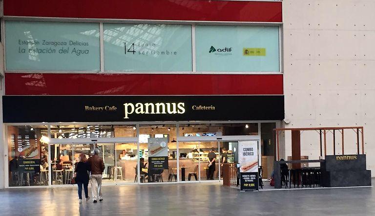 Un nuevo local de Pannus café en la estación del AVE de Zaragoza